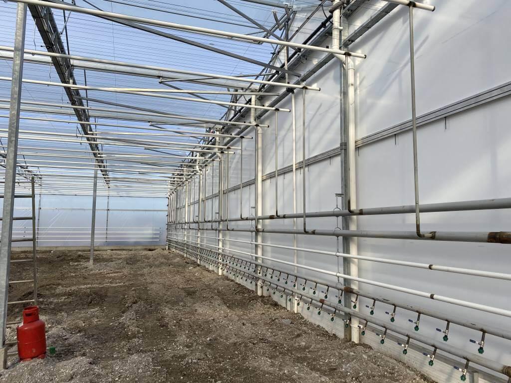 Zavlažovací systémy pro skleníky