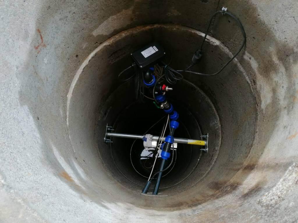 Vystrojení kopané studny